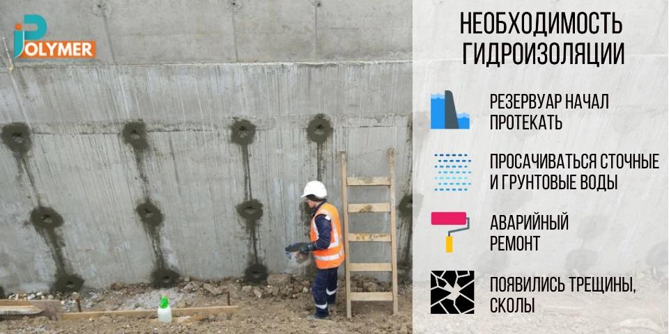 Причины необходимости гидроизоляции