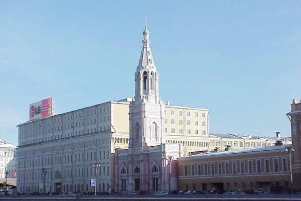 Церковь на Софийской набережной